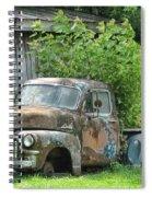 Old Gmc Spiral Notebook
