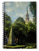 Old Granery Burying Ground Spiral Notebook