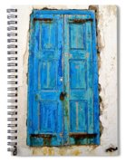 Old Greek Shutter Spiral Notebook