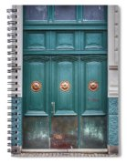 Old Green Door Spiral Notebook