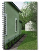 Old Green House Spiral Notebook