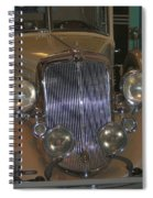 Old Grill Spiral Notebook