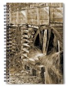 Old Grist Mill Photo Spiral Notebook