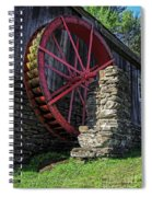 Old Grist Mill Vermont Spiral Notebook