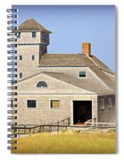 Old Harbor Lifesaving Station--cape Cod Spiral Notebook