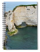 Old Harry Rocks On The Jurassic Coast In Dorset Spiral Notebook