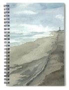 Old Hatteras Light Spiral Notebook