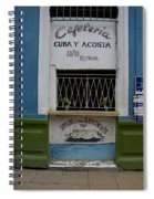 Old Havana Cafeteria  Spiral Notebook