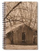 Old Hay Barn Spiral Notebook