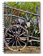 Old Hay Wagon Spiral Notebook