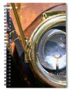 Old Headlights Spiral Notebook