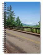 Old Highway And Forest Spiral Notebook