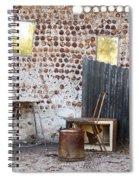 Old Home Interior Spiral Notebook