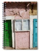 Old House Doors In Lisbon Spiral Notebook
