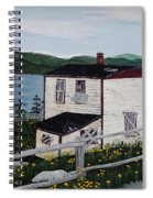 Old House - If Walls Could Talk Spiral Notebook