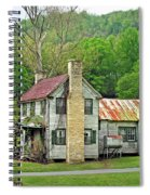 Old House In Penrose Nc Spiral Notebook