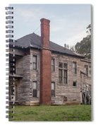 Old House Of Character Spiral Notebook