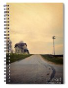 Old House On Country Road Spiral Notebook