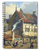 Old Houses And St Olaves Church Spiral Notebook