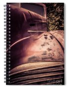 Old Hudson Car Spiral Notebook