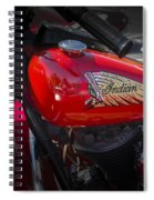 Old Indian Cycle Spiral Notebook