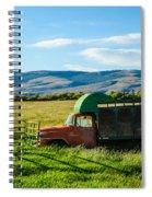 Old International Livestock Truck Spiral Notebook