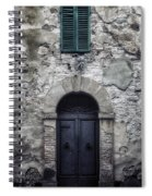 Old Italian House Spiral Notebook
