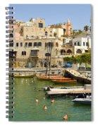 Old Jaffa Port Spiral Notebook