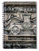 Old Jefferson Spiral Notebook