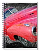 Old Junker Car Spiral Notebook