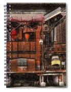 Old Kansas City Factory Building  Spiral Notebook