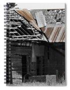 Old Kansas Homestead Spiral Notebook