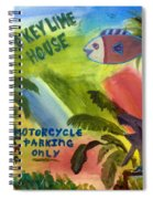 Old Key Lime House Spiral Notebook
