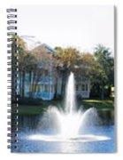 Old Key West Resort Panorama Walt Disney World Spiral Notebook