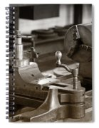 Old Lathe Spiral Notebook