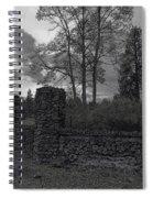 Old Liberty Park Ruins In Spokane Washington Spiral Notebook