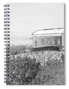 Old Lifeboat Station Tenby Spiral Notebook