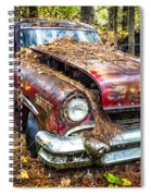 Old Lincoln Spiral Notebook
