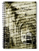Old Mahon Town Market Spiral Notebook