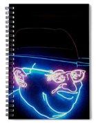 Old Man In Neon 2 Spiral Notebook