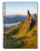 Old Man Of Storr - Pano Spiral Notebook