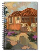 Old Mansion Costa Del Sol Spiral Notebook