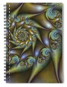 Old Metal Spiral Notebook
