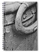 Old Milk Can Spiral Notebook