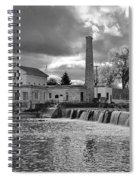 Old Mill And Banquet Hall Spiral Notebook