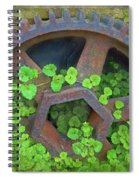 Old Mill Of Guiford Grinding Gear Spiral Notebook