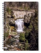 Old Mill On The Credit Spiral Notebook