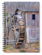 Old Mill Water Wheel And Sluce Spiral Notebook