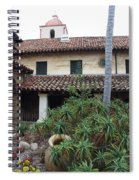 Old Mission Santa Barbara Spiral Notebook