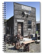 Old Molson Ghost Town Assay Office Spiral Notebook